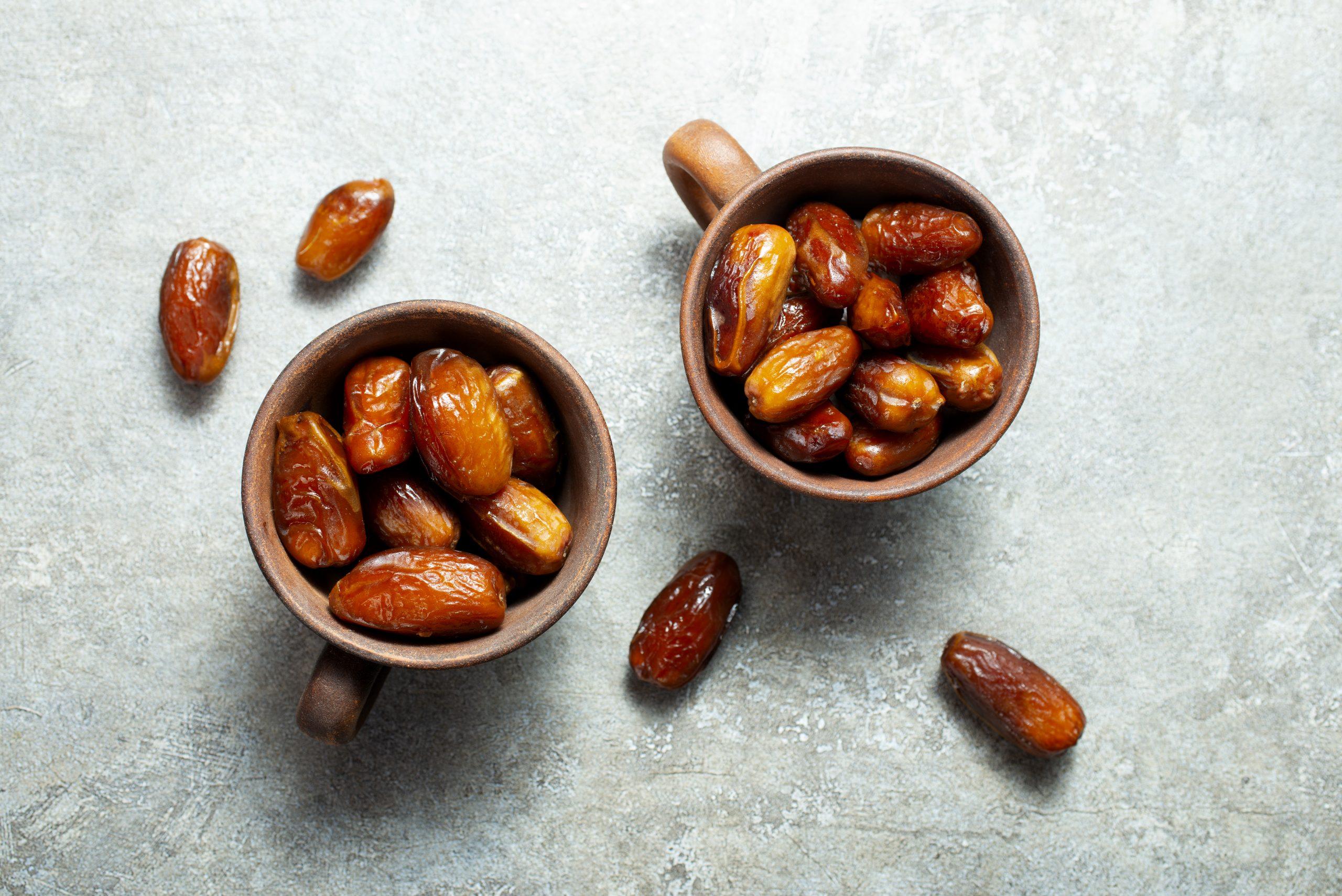 Dried Medjoul date fruit